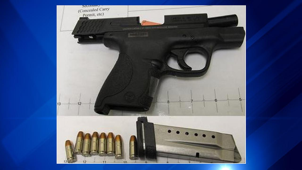 Loaded gun found in 43-year-old man's carry-on luggage at Midway Airport
