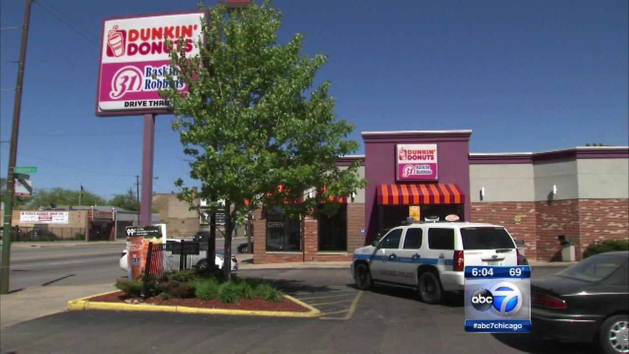 NW side Dunkin Donuts robbed