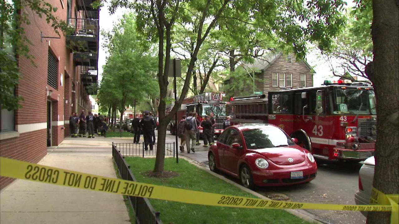 Woman injured in Bucktown condo fire