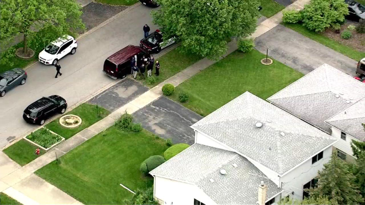 A man and woman found at a home in Villa Park apparently died in a murder suicide.