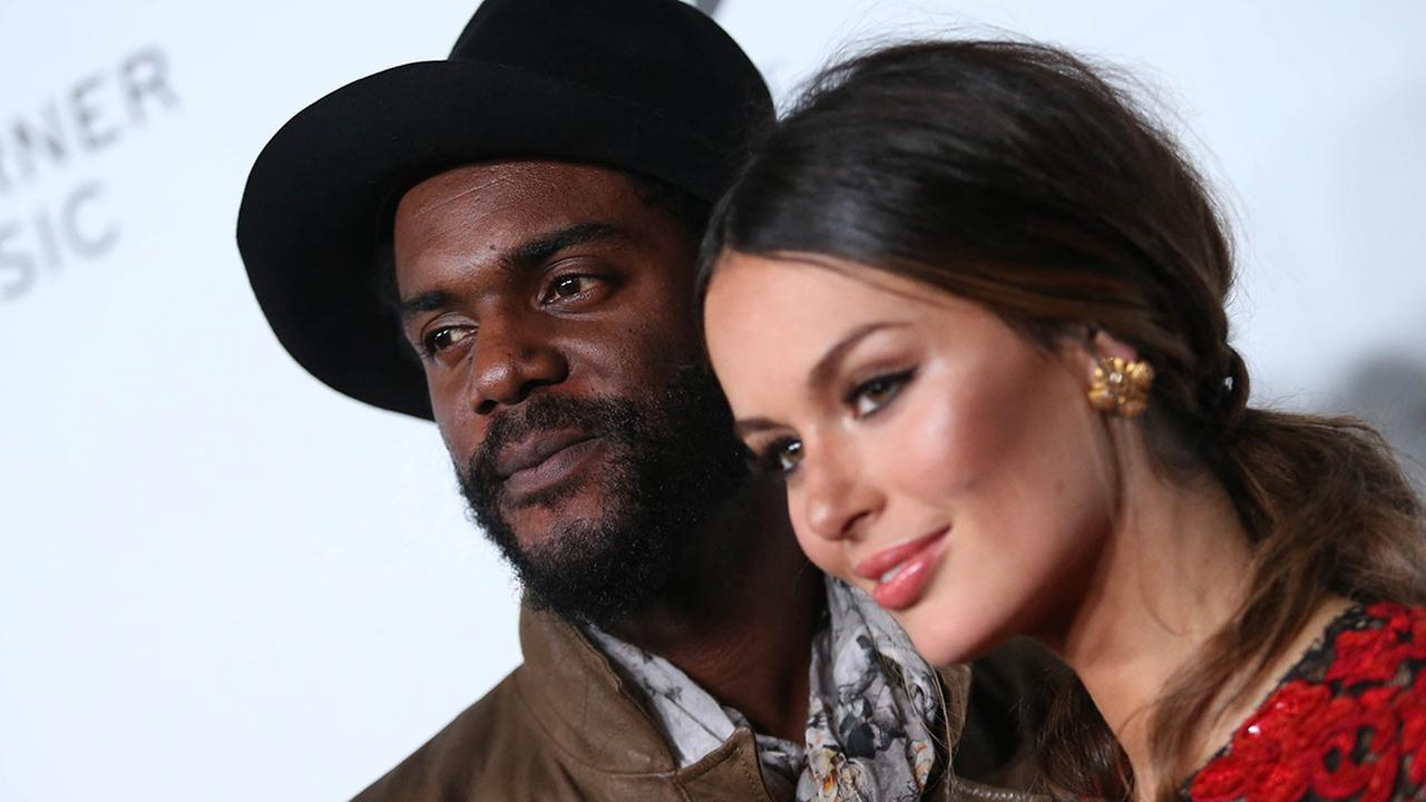 Gary Clark Jr. and Nicole Trunfio attend The 57th Annual Grammy Awards Warner Music Group Grammy Celebration on Sunday, Feb. 8, 2015