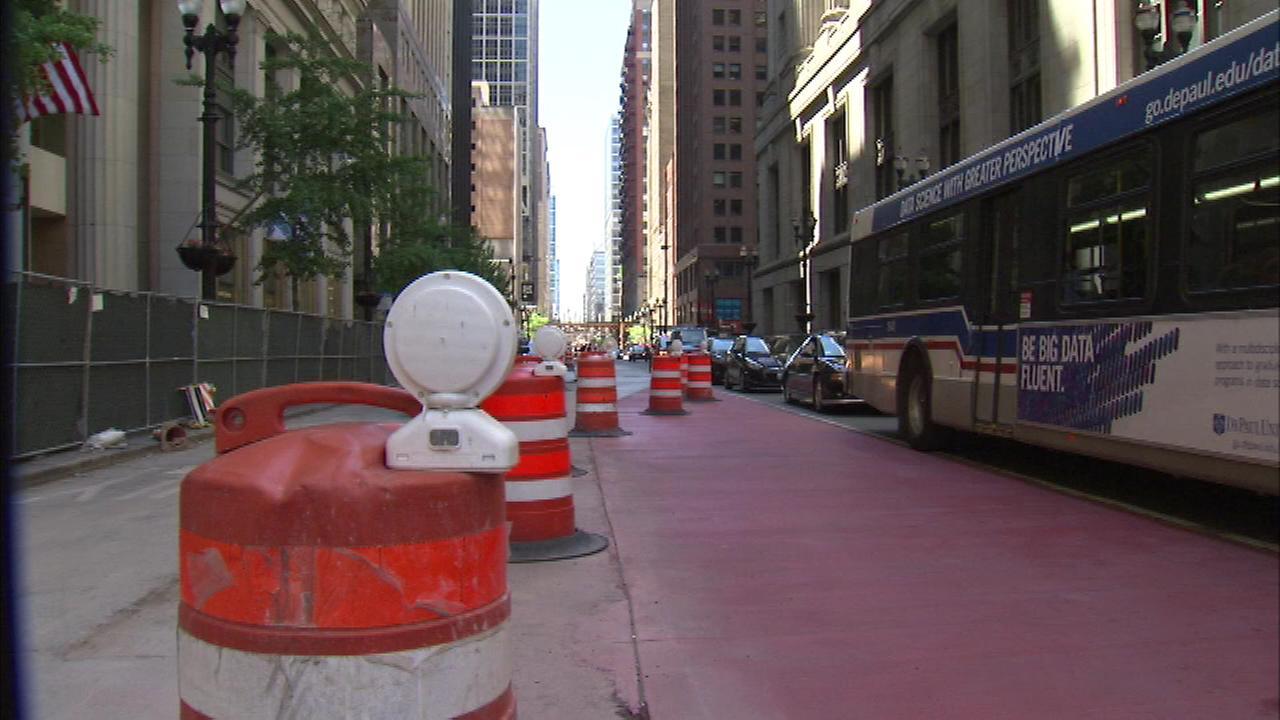 Lane closures in Loop start Tuesday