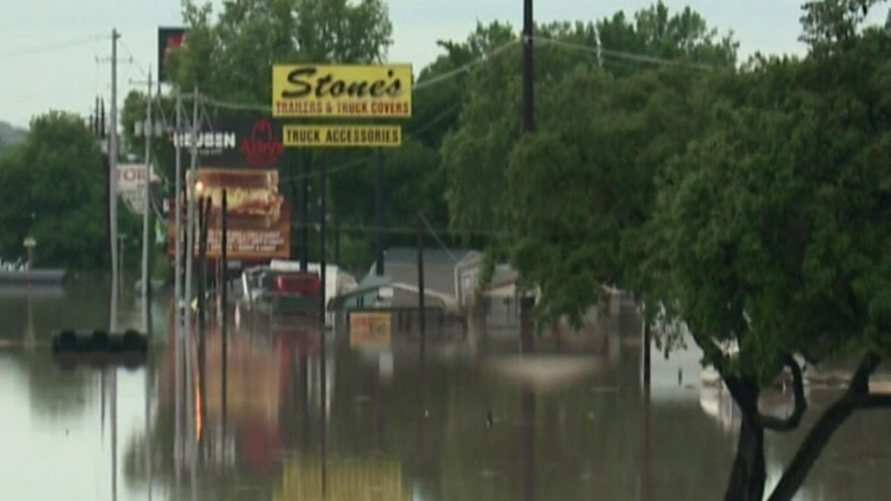 Non-stop rain continues to pound the Texas and Oklahoma panhandle
