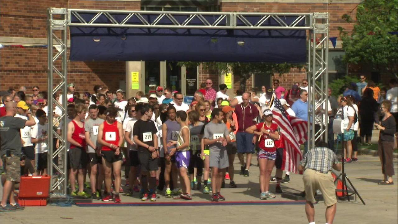 North Riverside 5k race honors fallen soldiers