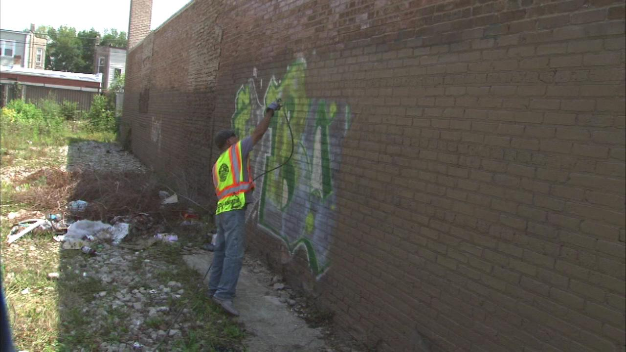 City promises faster graffiti removal