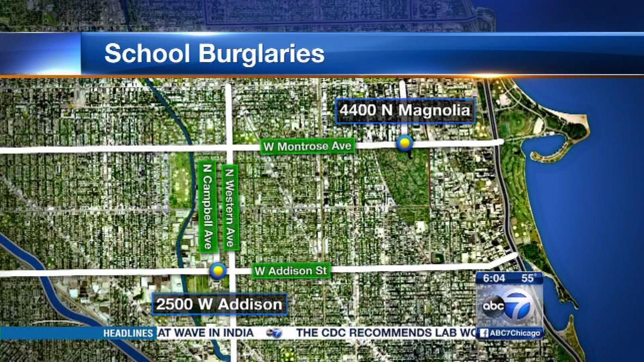 Uptown school burglary targets electronics