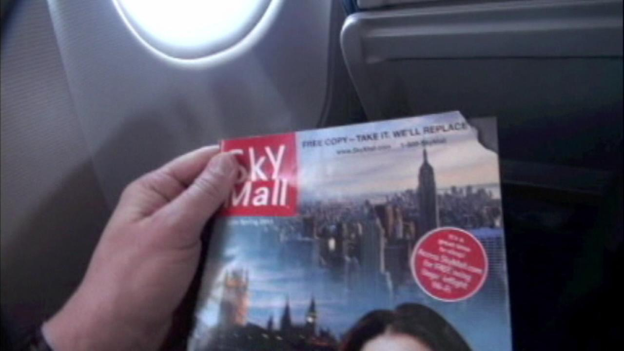 SkyMall catalog to return to airplanes