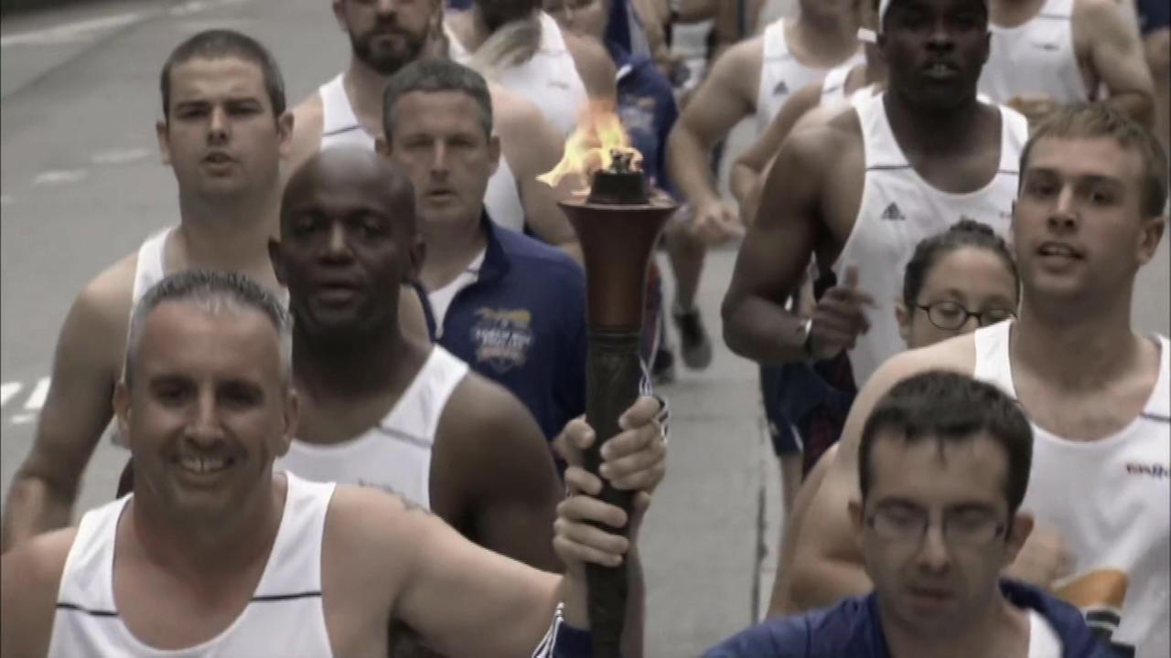 Special Olympics torch comes to Chicago