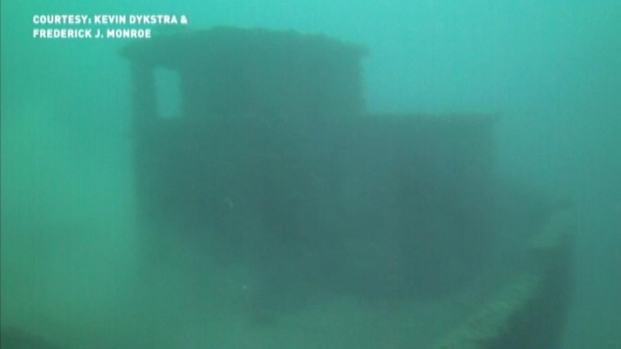 Lake Michigan shipwreck from Civil War could contain gold treasure, divers say