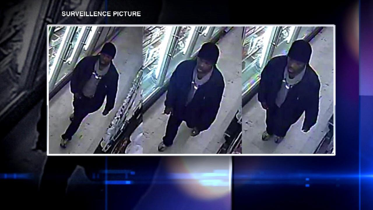 Police release video of 2014 supermarket shooting in search for suspect