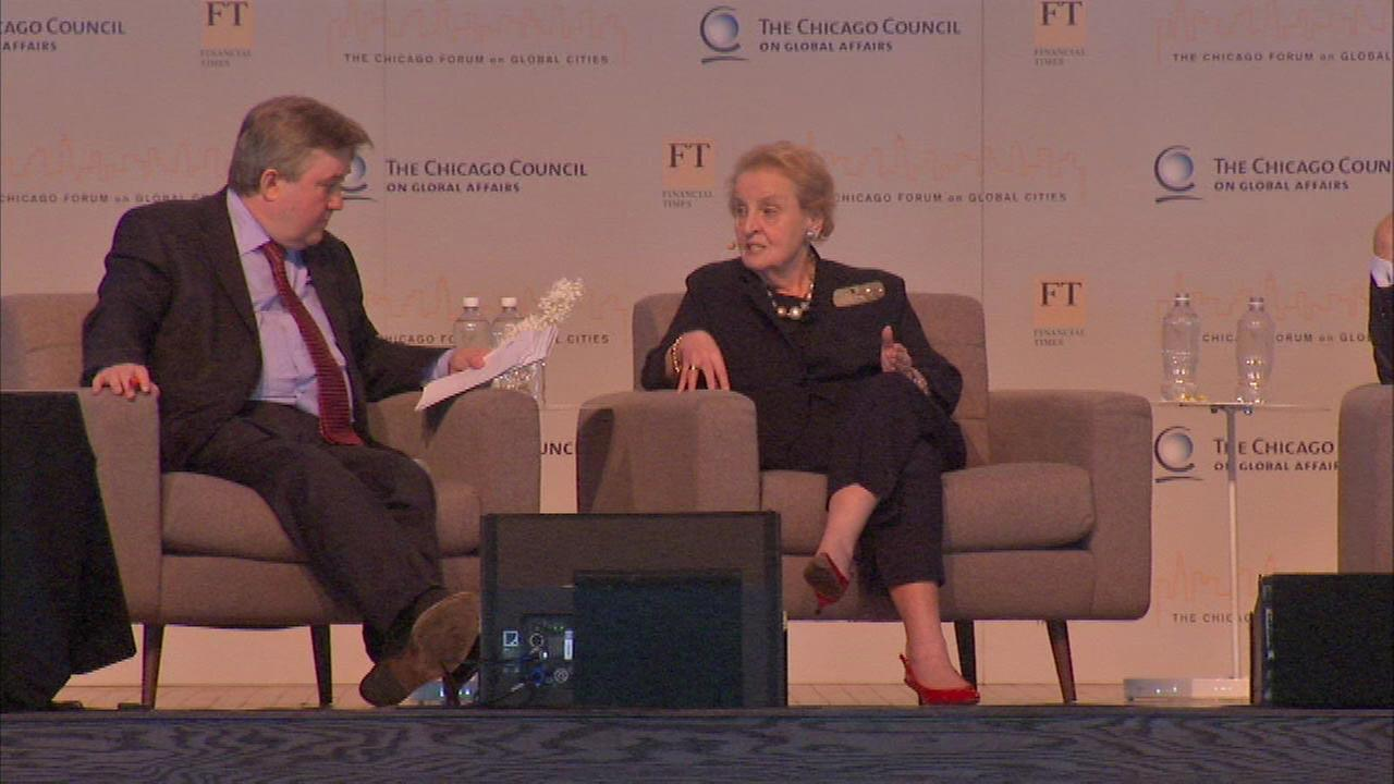 Madeleine Albright featured in Chicago Forum on Global Cities