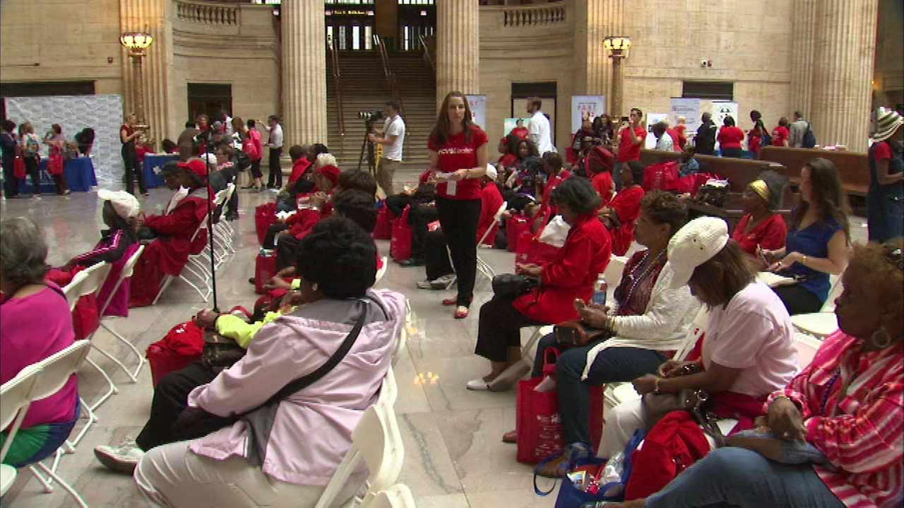 Go Red for Women expo held at Union Station