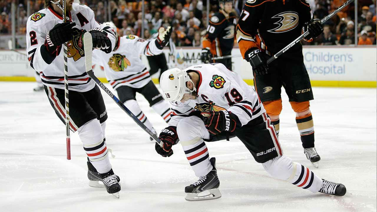 Blackhawks-Ducks, Game 7