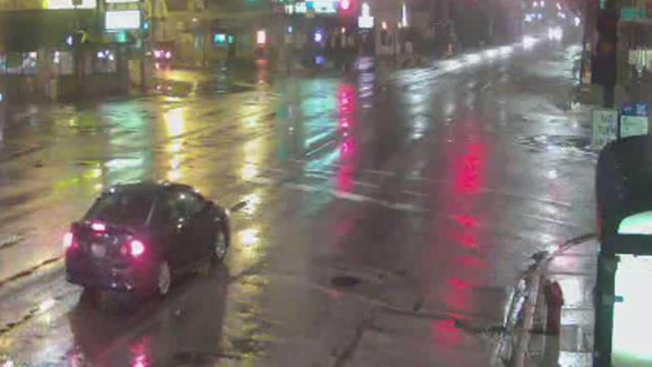 CPD alert for car involved in crash with cyclist on May 9, 2015.