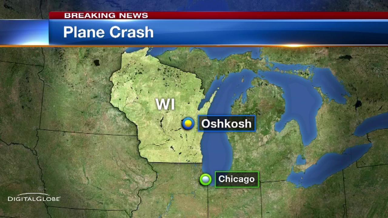 Plane crash kills 2 in Oshkosh, Wisconsin