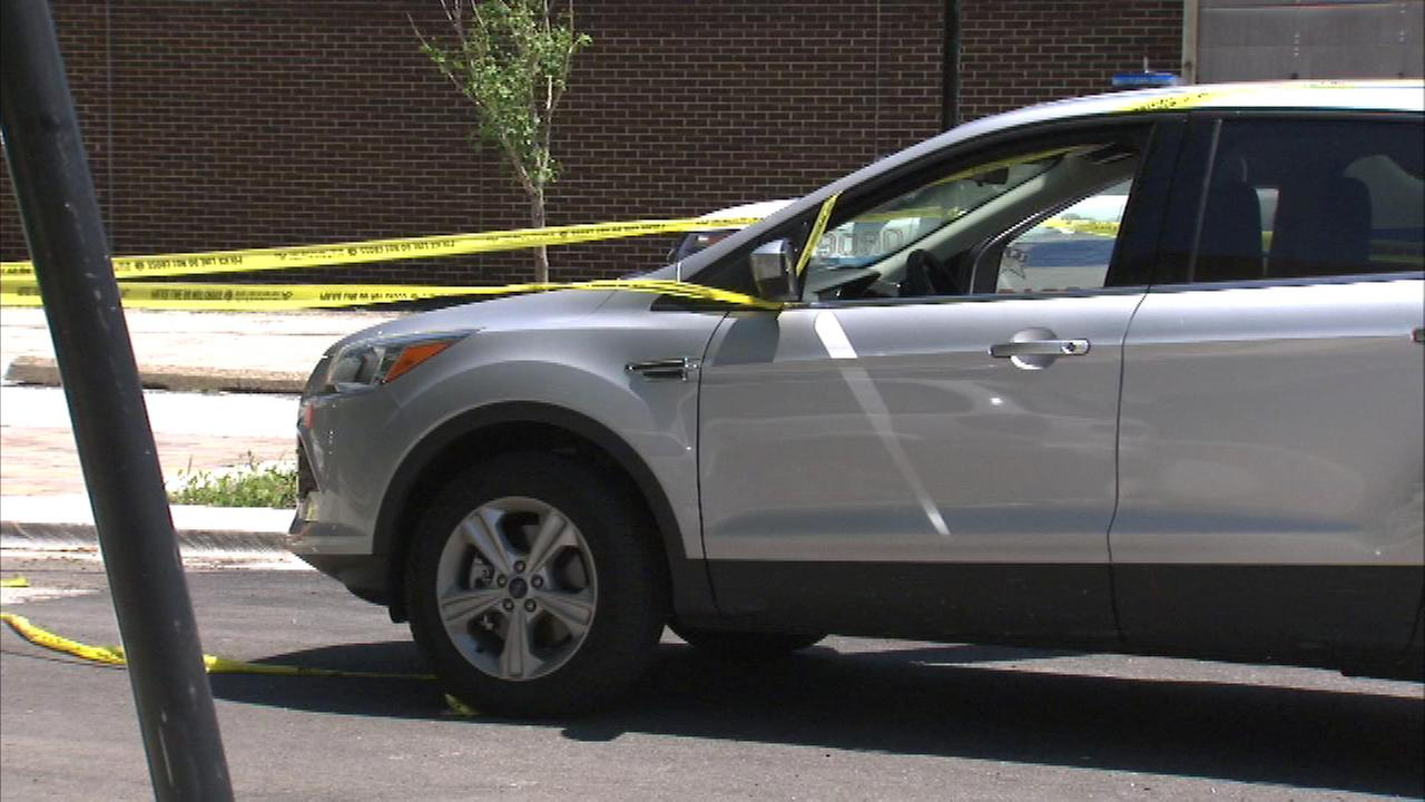 A woman is recovering from a bullet wound she received while driving through a South Side neighborhood.