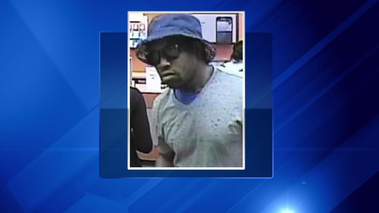 A TCF Bank in Chicago Heights was robbed Tuesday. The FBI is searching for this man.