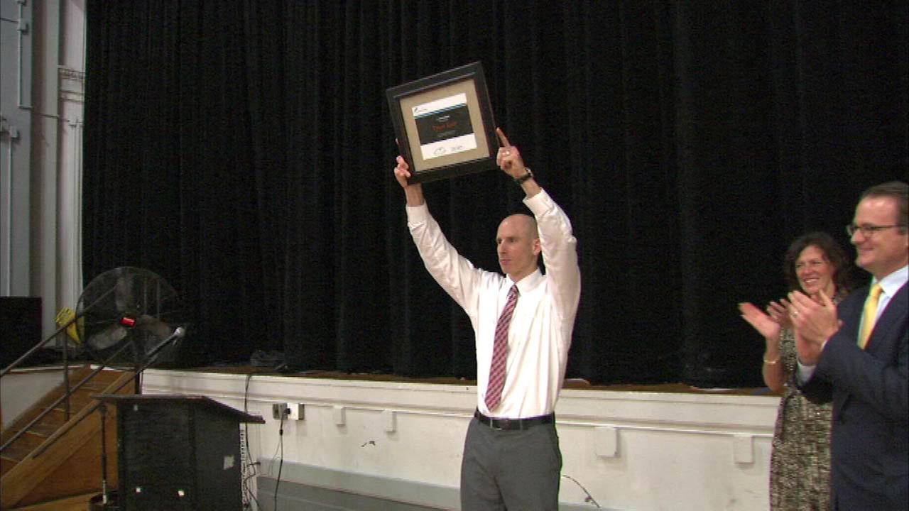 Chicago Bulls College Prep principal wins Ryan Award