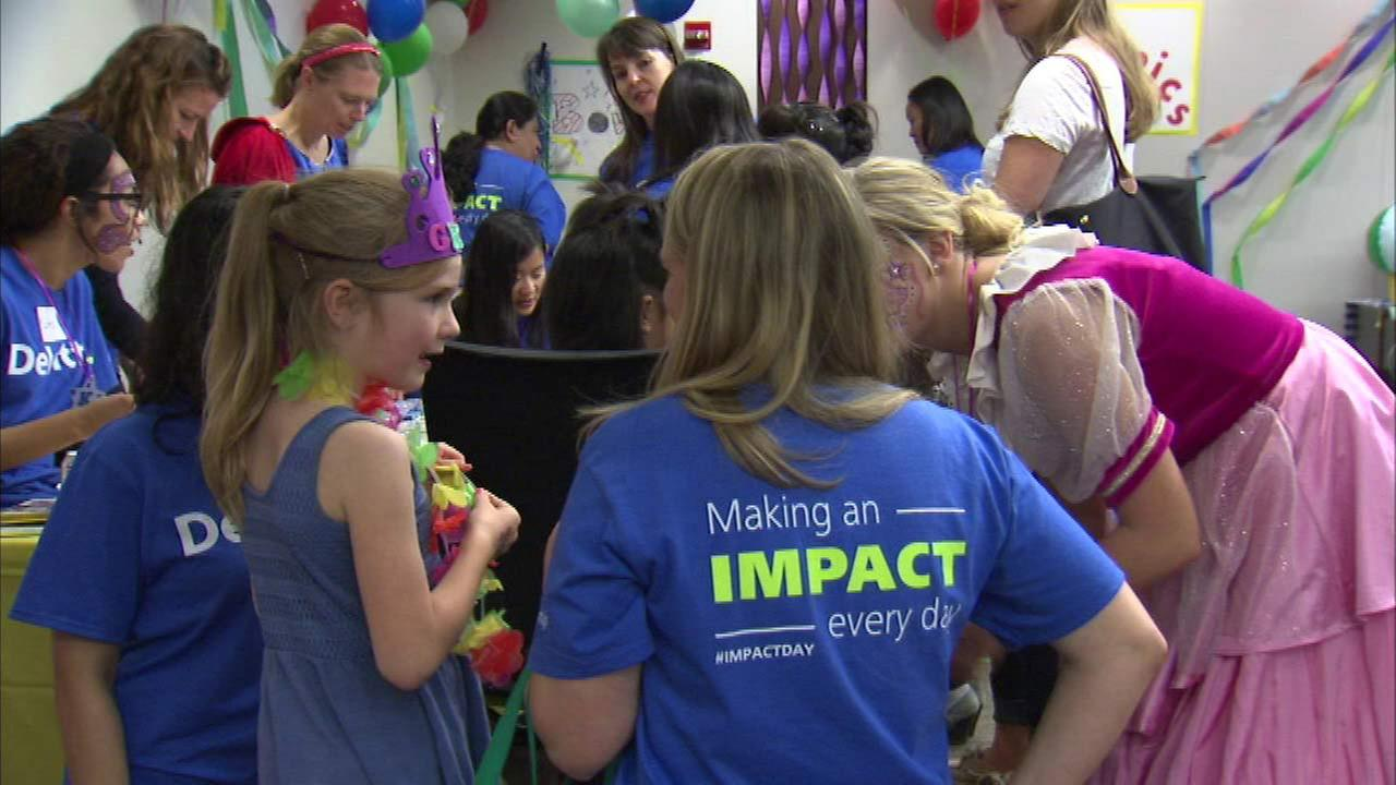 Deloitte hosts Impact day benefiting Make-A-Wish