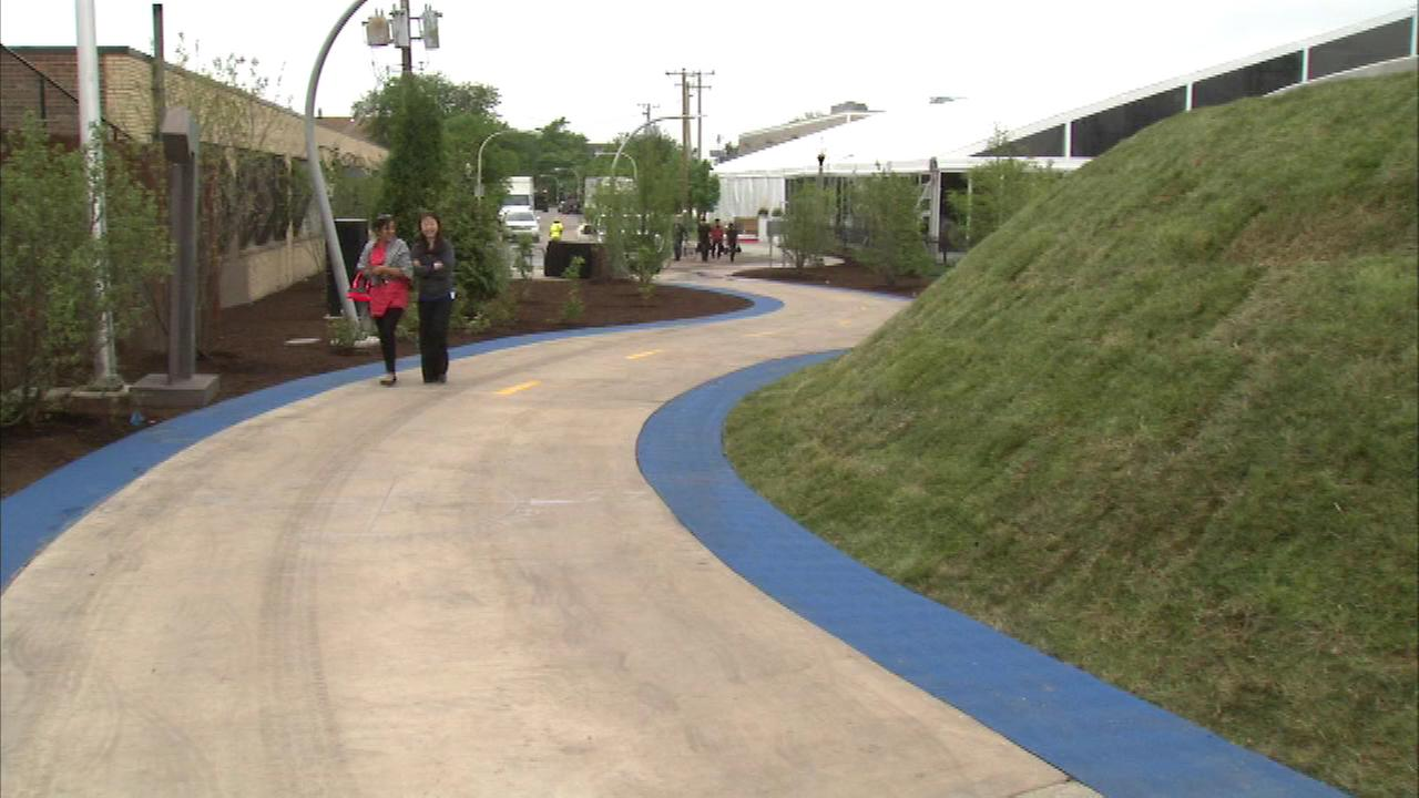 The 606 opens to the public on Saturday.