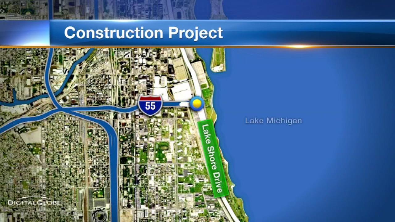 Construction on Lake Shore Drive ramp starts Thursday