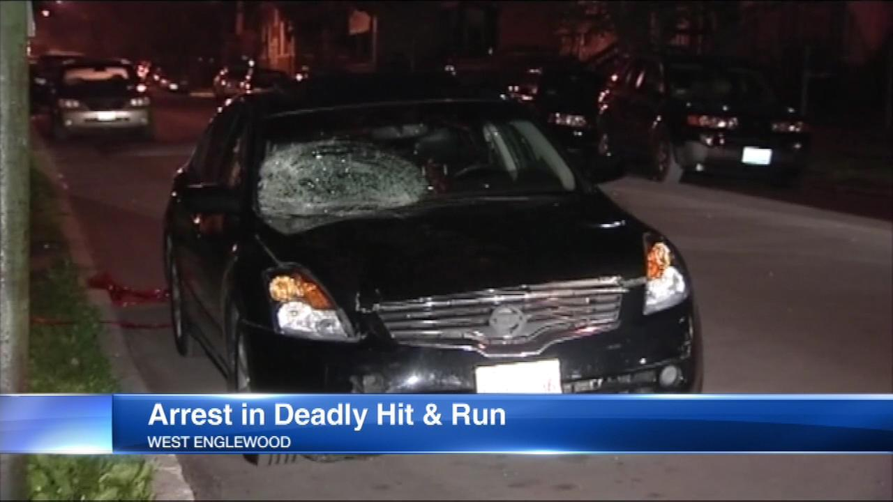 Chicago police used a parked car to track down the suspected driver in a deadly hit and run crash in West Englewood.