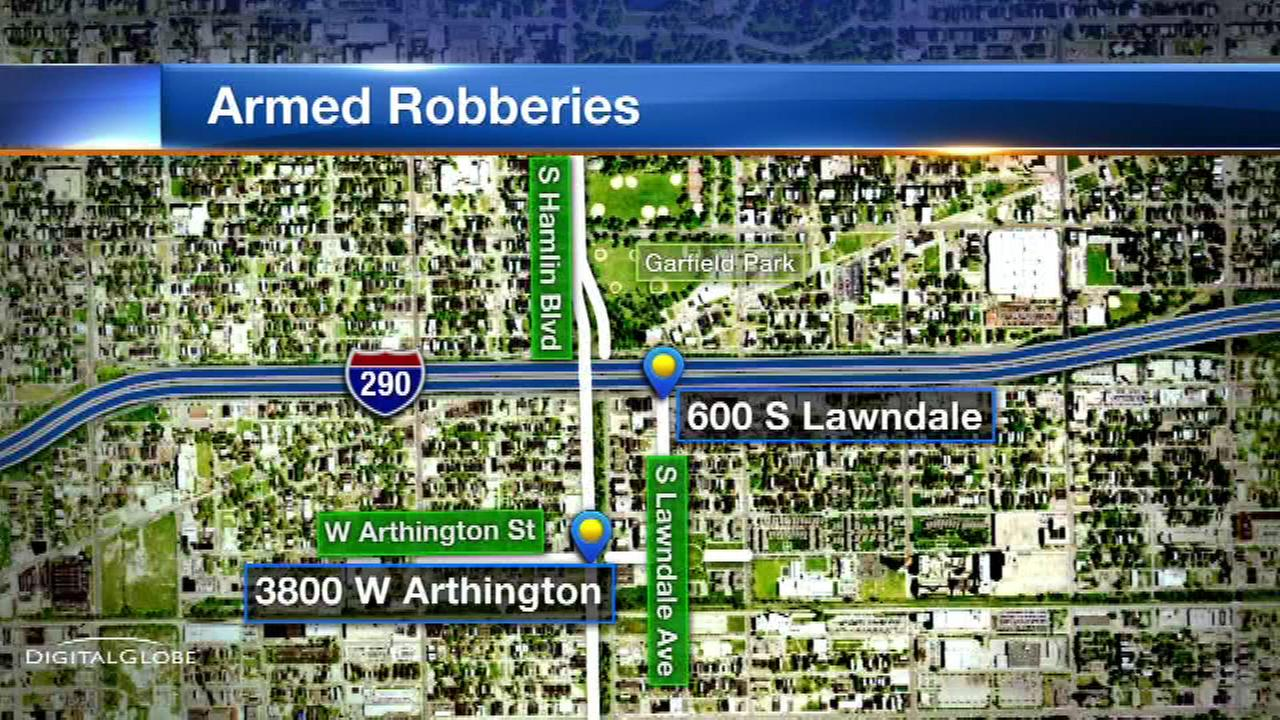 Police warn of armed robberies on West Side