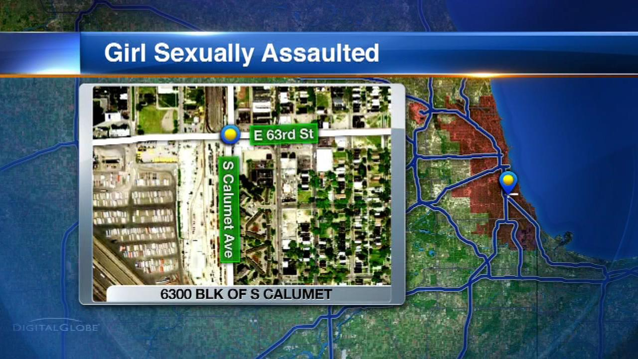 Girl sexually assaulted in stairwell, CPD says
