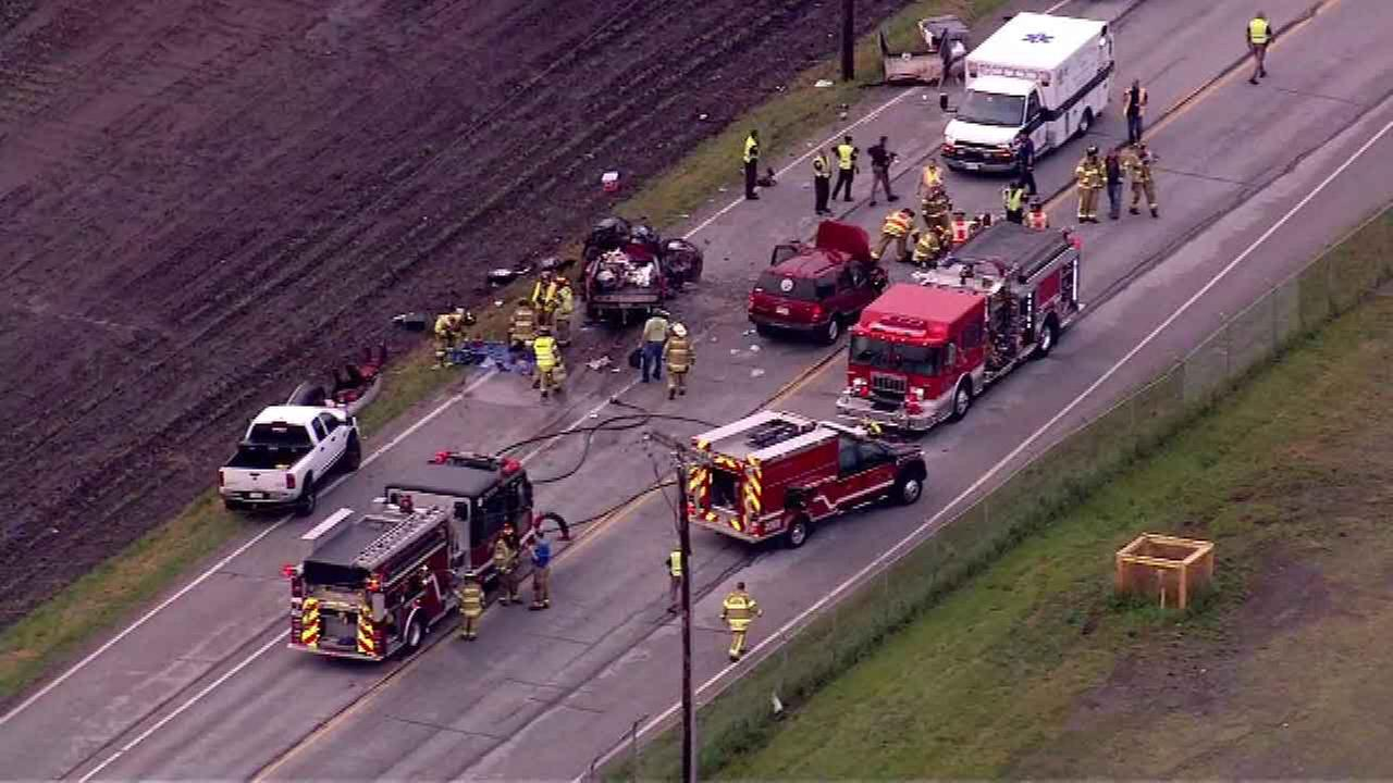 Major crash on US 421 in LaPorte Co. injures 5