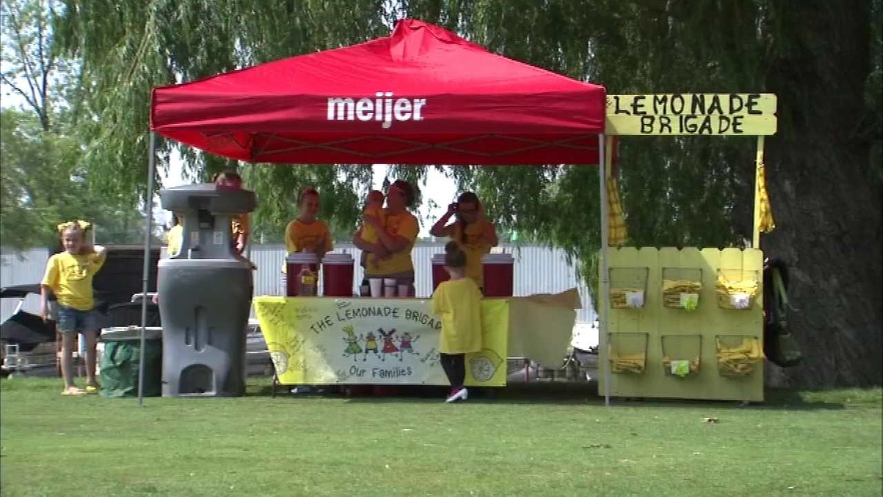 Children's lemonade stand briefly shut down by health department