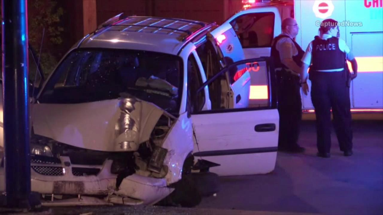 Police officer injured in chase with stolen vehicle