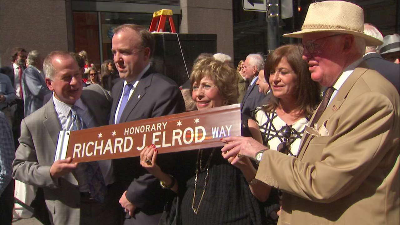 Honorary street named for former Cook County Sheriff Richard Elrod