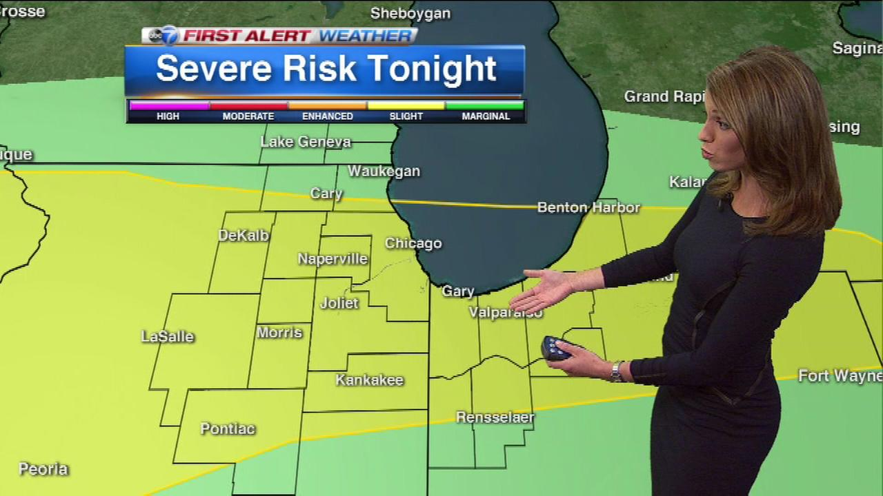 Heavy rain likely throughout Chicago area overnight