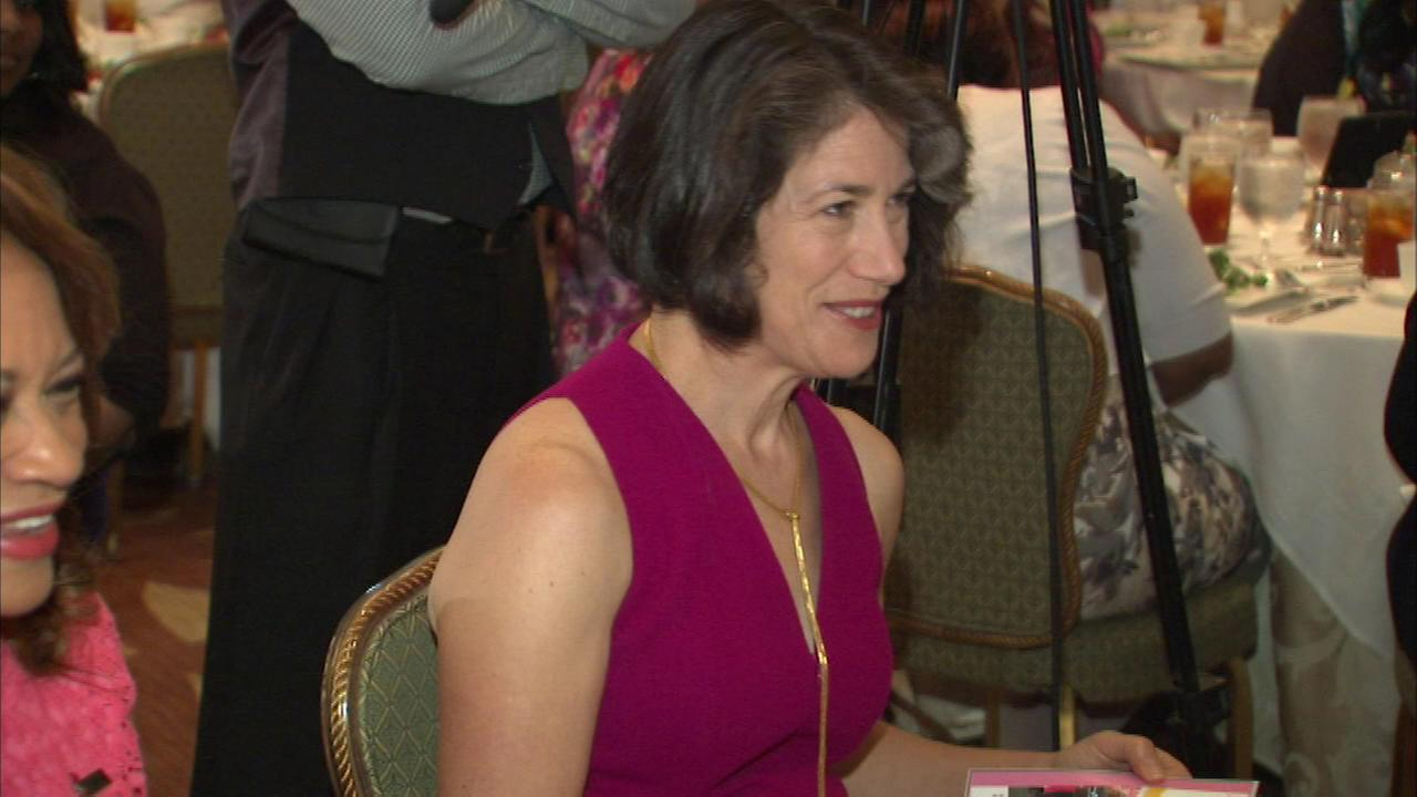 Diana Rauner was a special guest at Saturday afternoons First Ladies Health Initiative luncheon.