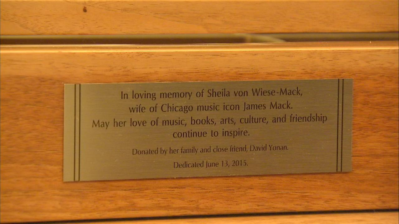 Sheila von Wiese Mack and her love of the arts were remembered at a concert Saturday.