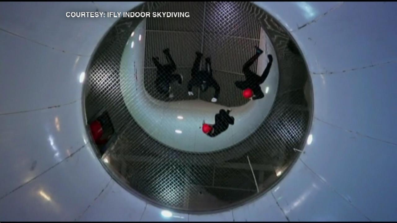 Many of the nations top skydivers competed in iFLYs national indoor skydiving competition Saturday in west suburban Naperville.