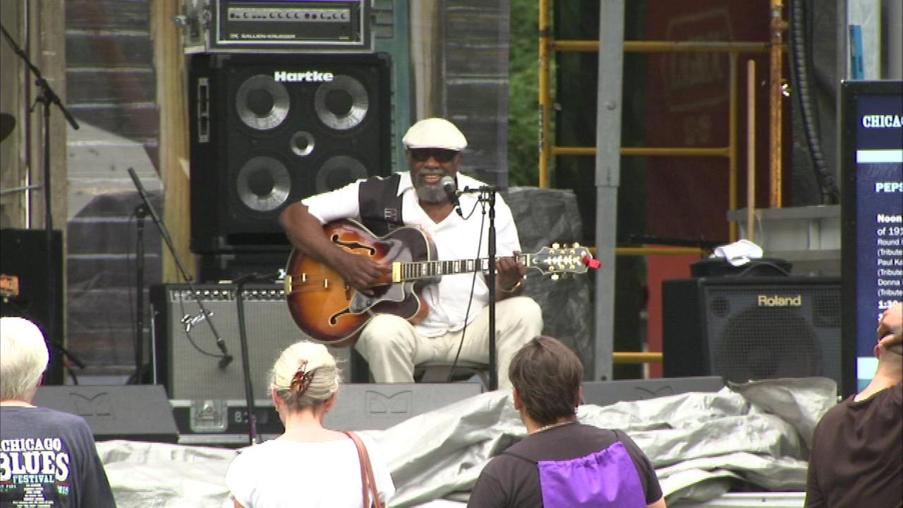 The Chicago Blues Festival is wrapping up Sunday in Grant Park.