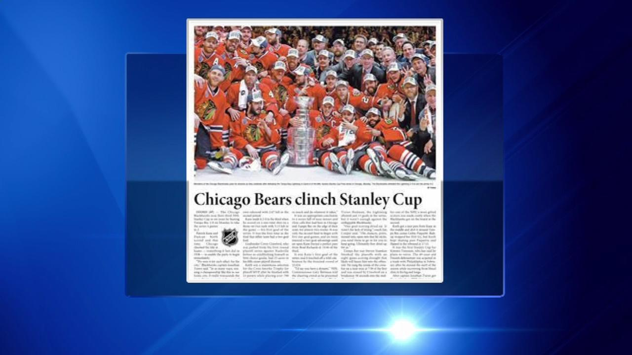Korean newspaper mistakenly proclaims Chicago Bears win Stanley Cup