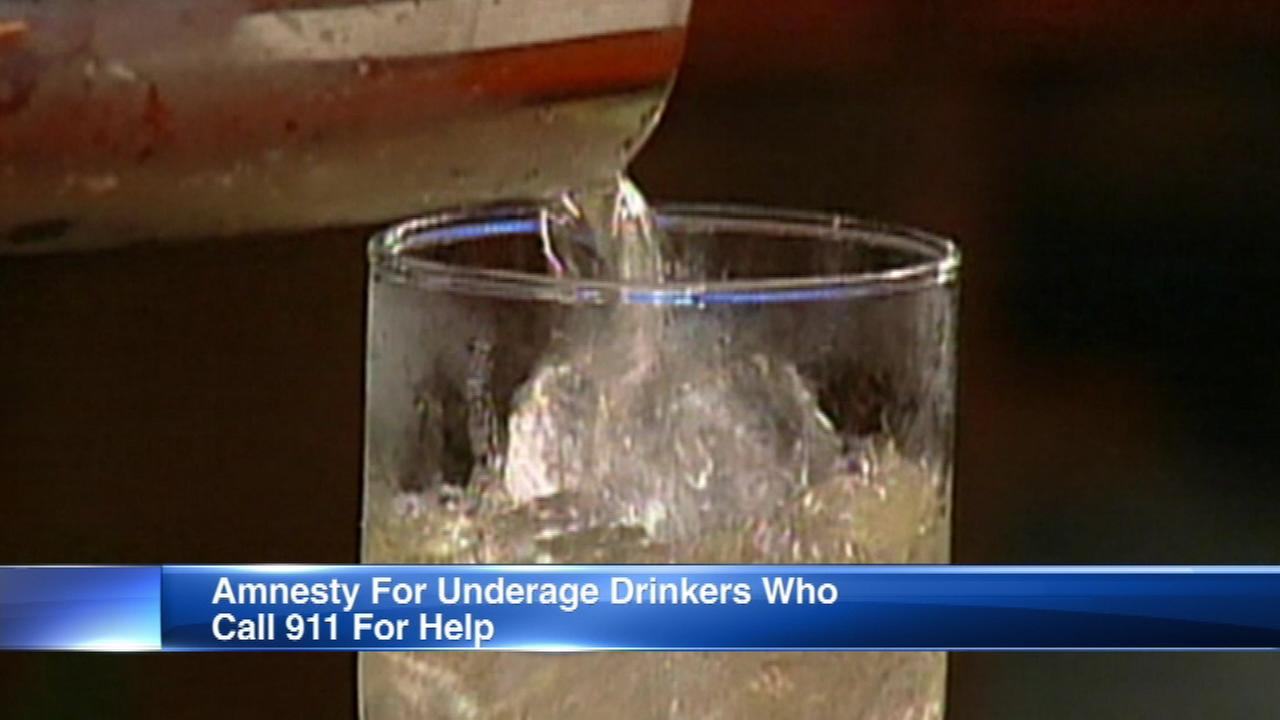 Lawmakers pass bill to grant amnesty to underage drinkers who call 911