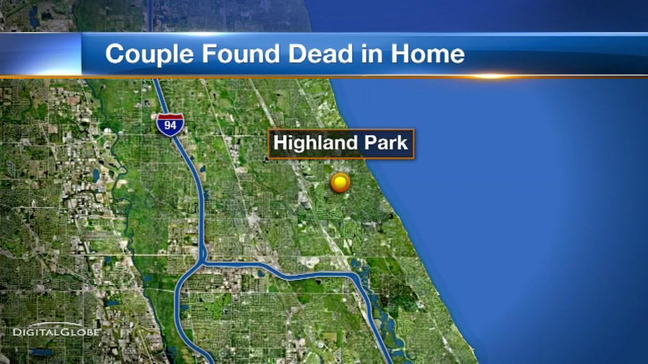 Highland Park couple died of carbon monoxide poisoning, officials said