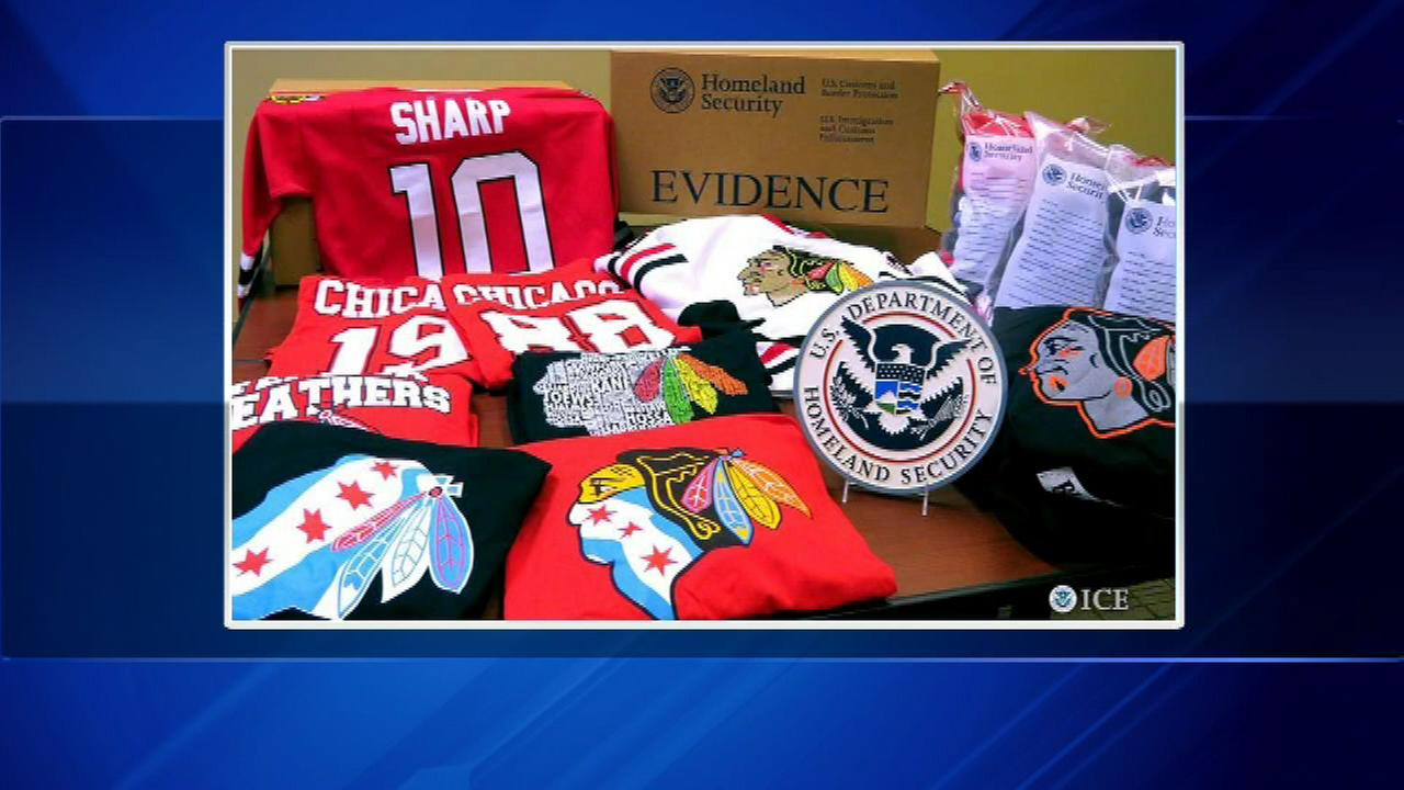 A federal investigation is cashing in on a crackdown and it is all thanks to the Chicago Blackhawks Stanley Cup run.