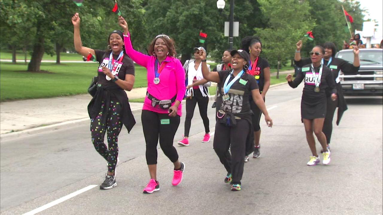 A Juneteenth celebration was held Saturday at St. Joseph Missionary Baptist Church on the citys South Side.