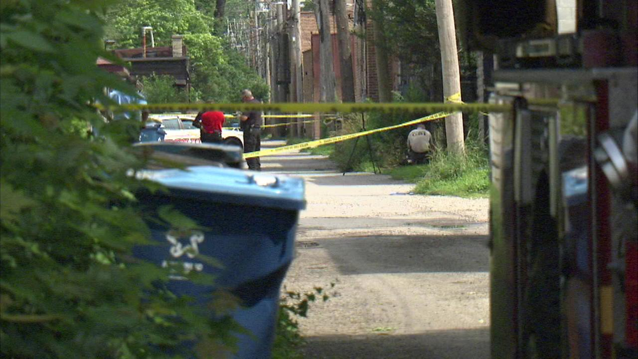 Authorities are working to identify a body found on the South Side in Calumet Park.