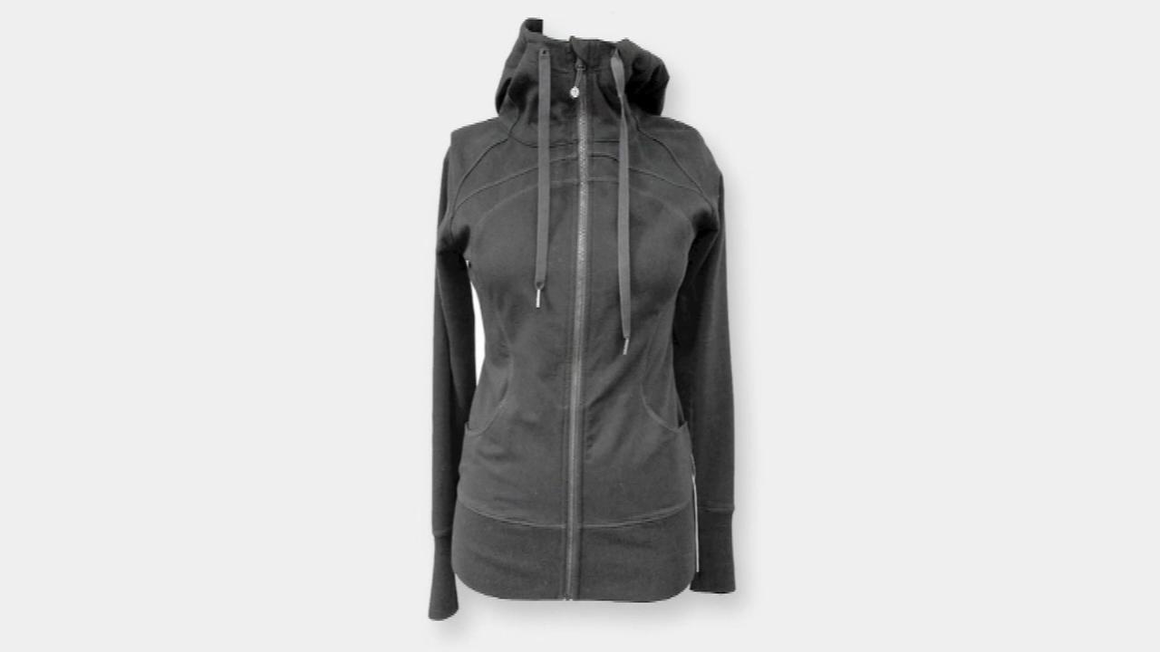 Lululemon recalls more than 300,000 hoodies, tops