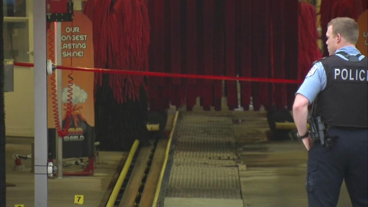 A man was fatally shot at a self-serve car wash in Edgewater Thursday afternoon.
