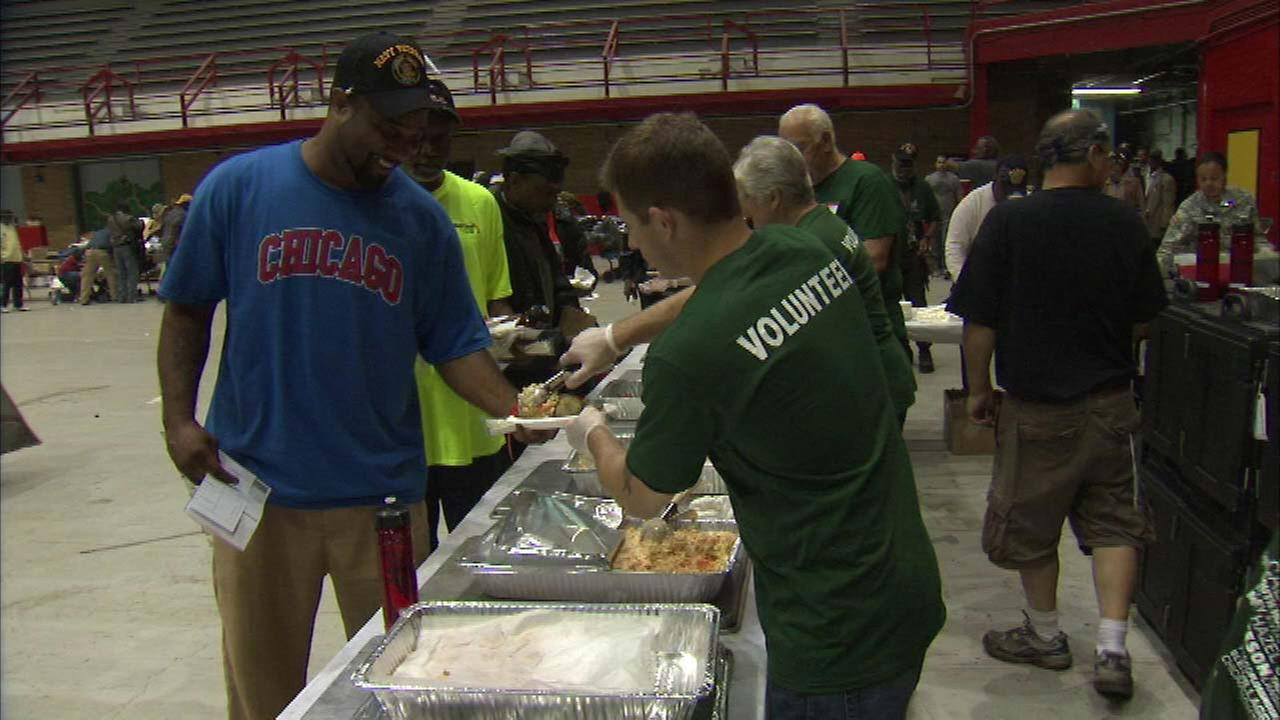 Veterans receive food, medical and employment aid at event