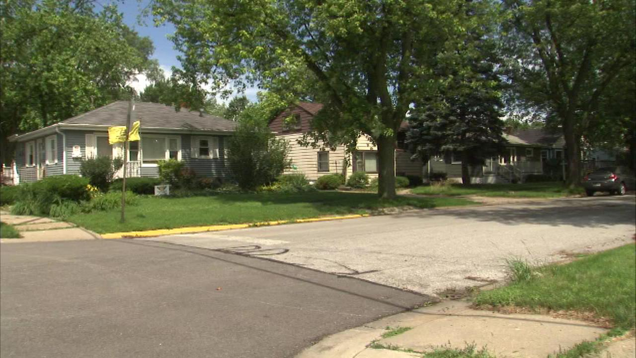Authorities are working to identify remains found at a home in Highland, Indiana, Saturday morning.