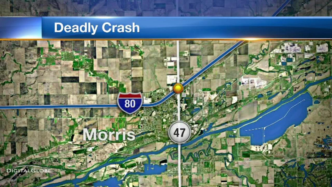 1 dead in 5-vehicle crash on I-80