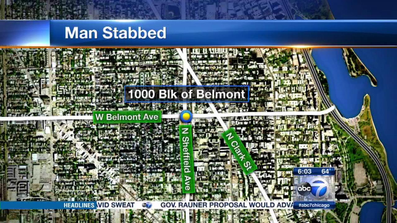 Man stabbed in Lakeview