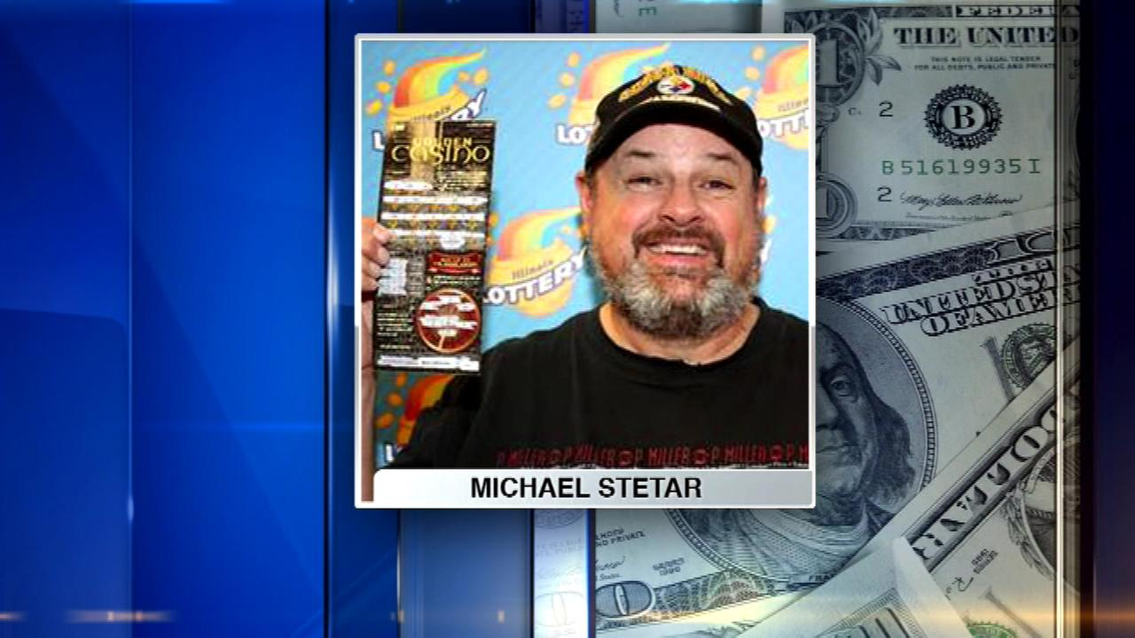 Elgin resident Michael Stetar bought a Golden Casino instant ticket and won $4 million.